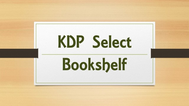 KDP Select Bookshelf